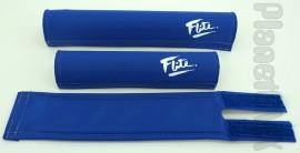 FLITE old-school pad set (80's logo) BLUE