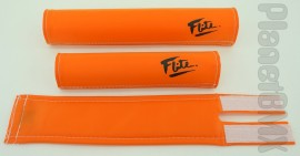 FLITE old-school pad set (80's logo) ORANGE