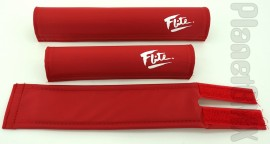 FLITE old-school pad set (80's logo) RED w/white logo