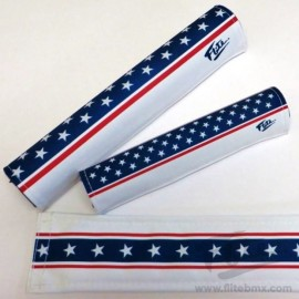 "FLITE ""Stars and Stripes"" pad set RED, WHITE, & BLUE"