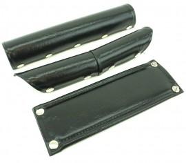 FLITE Vinyl 5-Snap 3 piece pad set (V-bar) BLACK