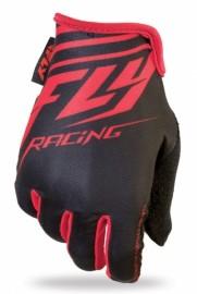 Fly Racing Media gloves BLACK / RED
