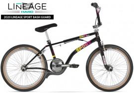"""2020 Haro 20"""" Lineage Sport Bashguard Freestyler Bike (21"""" TT) GLOSS BLACK- PRE ORDER DEPOSIT"""