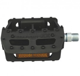 MKS Grafight-XX pedal BLACK 1/2""