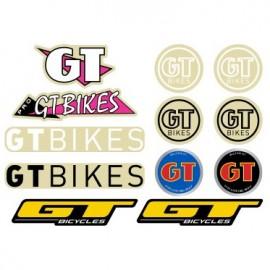 GT Bikes Sticker 12-Pack