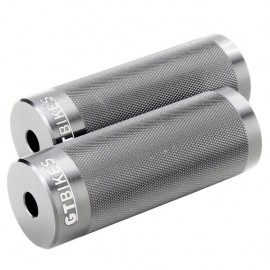 "GT Cheat Code 3/8"" Alloy Pegs BLACK or SILVER"