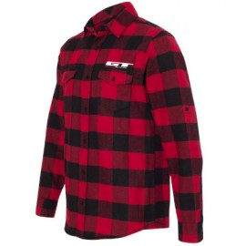 GT Bicycles Lumberjack Longsleeve Flannel Shirt RED / BLACK