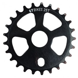 GT Alloy NBS Sprocket 25t or 28t BLACK