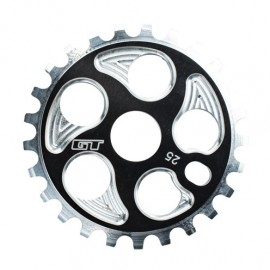 GT Overdrive Sprocket 25t, 28t, or 36t Size BLACK or SILVER
