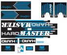 1988 Haro Freestyler MASTER decal kit BLACK / CHROME