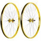 """29"""" Haro Sealed Bearing Alloy Wheelset GOLD"""