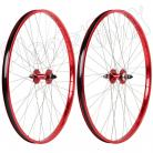 "29"" Haro Sealed Bearing Alloy Wheelset RED"
