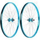 "29"" Haro Sealed Bearing Alloy Wheelset TEAL BLUE"