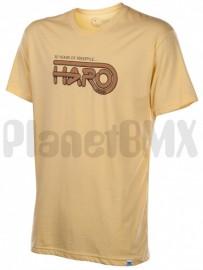 """HARO """"30 Years"""" T-shirt YELLOW"""