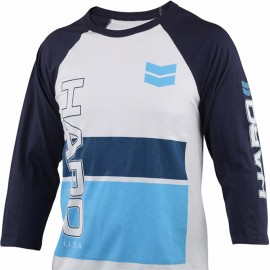 """Haro """"86 Jersey"""" Raglan T-shirt WHITE / BLUE"""