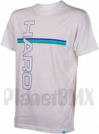 HARO vintage T-shirt WHITE (Small)