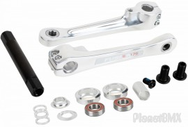 Haro Fusion Alloy Cranks w/ Bottom Bracket In SIZES / COLORS
