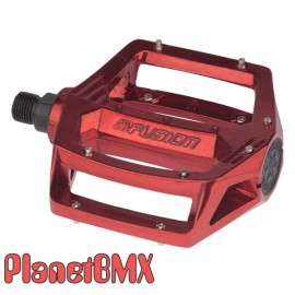 """Haro Fusion alloy pedals 1/2"""" IN COLORS"""