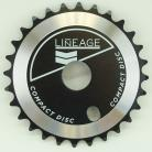 Haro Lineage Sprocket 28t BLACK or WHITE