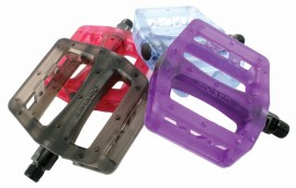 "Haro Recycled PC pedals 9/16"" IN COLORS"