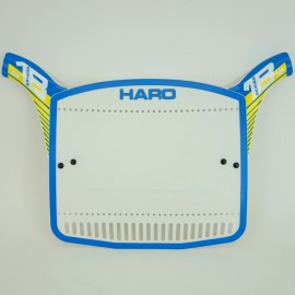 Haro Series 1B numberplate BLUE/YELLOW sale!