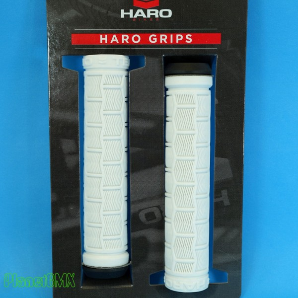 HARO TEAM GRIPS FLANGED BLACK WHITE OR GUM BMX BIKE BICYCLE GRIPS GT SE REDLINE