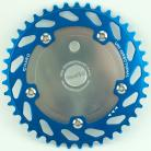 Haro Uni-Directional Spider/Chainring Combo TEAL (41T or 44T)