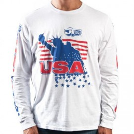 JT Racing LIBERTY long sleeve shirt (MED / 2XL)