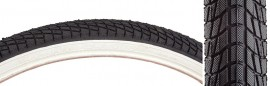"24"" Kenda K841 Kontact 1.75"" tire BLACK w/ WHITE sidewall"