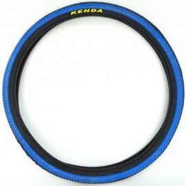 "26"" Kenda K1177 1.95"" tire 2-TONE BLACK & BLUE w/ BLACK SIDEWALL"