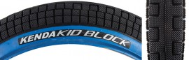 "20"" Kenda K1040 K Block 2.25 BLACK w/ BLUE SIDEWALL tire"