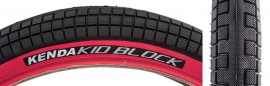 "20"" Kenda K1040 K Block 2.25 BLACK w/ RED SIDEWALL tire"