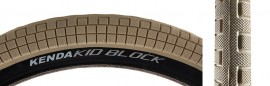 "20"" Kenda K1040 K Block 2.25 TAN w/ BLACK SIDEWALL tire"