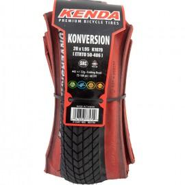 "20"" Kenda Konversion folding tire BLACK w/ RED sidewall IN SIZES"