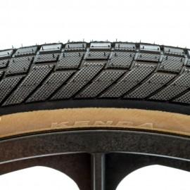 "26"" Kenda Kranium 2.1"" tire BLACK w/ SKINWALL"