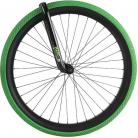 "26"" Kenda Kranium 2.1"" tire GREEN w/ BLACK SIDEWALL"