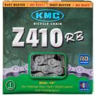 "KMC 1/8"" Z410 Rustbuster chain SILVER"