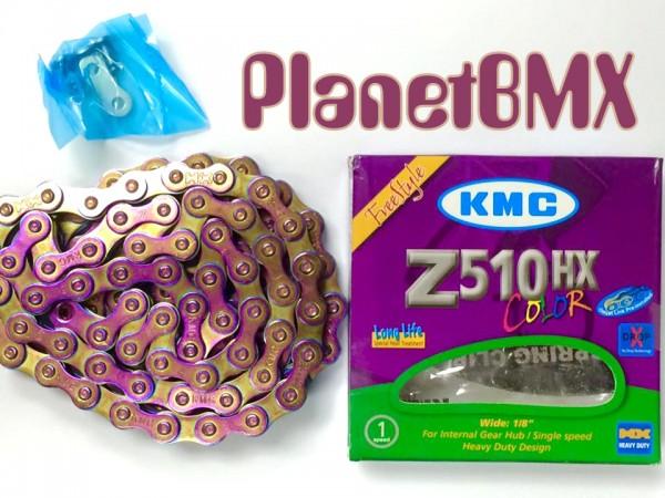 OL KMC Neo Chrome Z510HX 1-Speed Chain Cyclone Bicycle Z510HX-112L