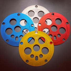 Knight 5-bolt 110 Mini Power Disc spider IN COLORS