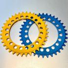 Knight 5-bolt Ruf-Tooth CNC 33T or 36T Chainring IN COLORS