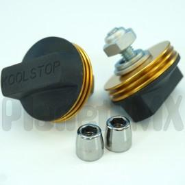 Kool Stop International Brake Pad w/ Cooling Fins (BLACK PAD)