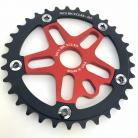 MCS 39T 5-bolt Chainring / Spider combo IN COLORS