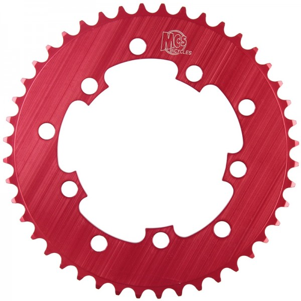 MCS BMX 110 CHAINRING USA MADE CNC 41T RED