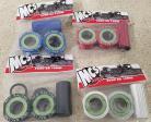 MCS Euro 19mm bottom bracket kit IN COLORS