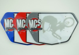 MCS Pro numberplate IN COLORS