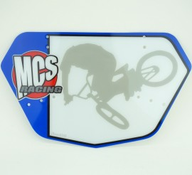 MCS Mini / Cruiser numberplate IN COLORS