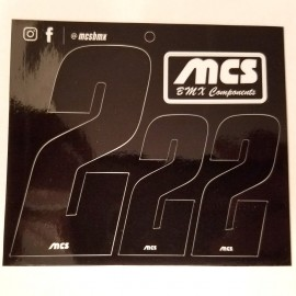 "3"" and 2"" MCS Number Sticker Sheet (Set of 3 numbers)"