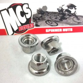 "26TPI MCS Spinner Nuts 3/8"" (4-pack)"