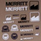 Merritt BMX sticker 18-pack