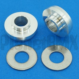 "Bully 3/8"" to 14mm axle adaptors"